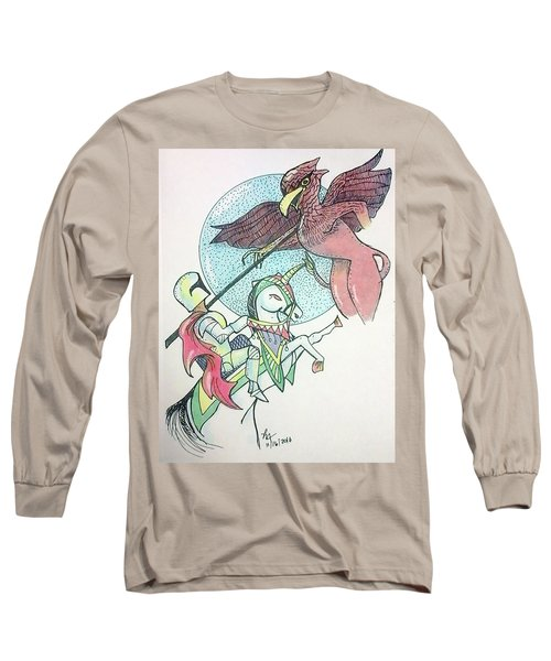 Lancelot And Griffin  Long Sleeve T-Shirt