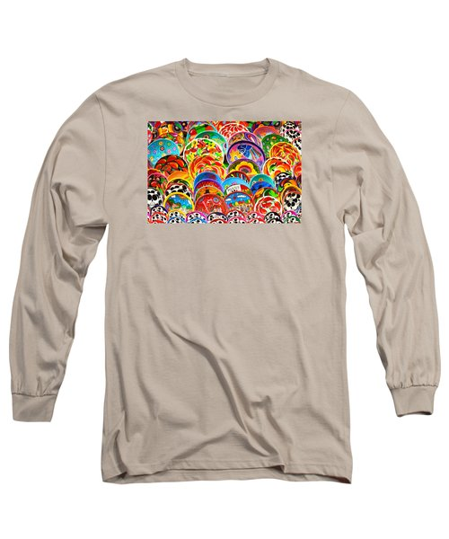 Land Of Brilliant Color Long Sleeve T-Shirt