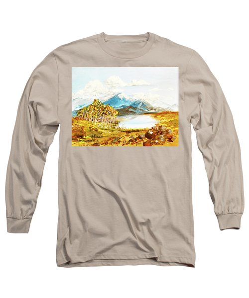 Land Scape No.-3 Long Sleeve T-Shirt