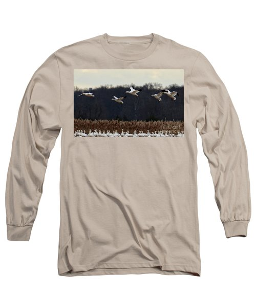 Landing Long Sleeve T-Shirt by Tamera James
