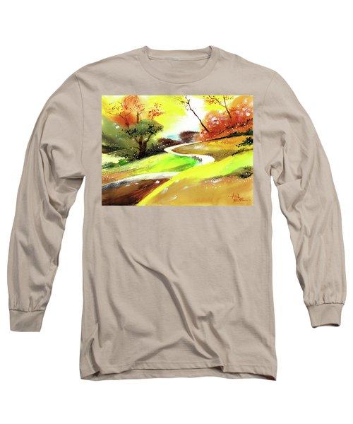 Landscape 6 Long Sleeve T-Shirt