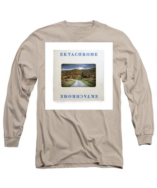 Landscape In Ektachrome Long Sleeve T-Shirt