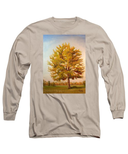 Landscape Oil Painting Long Sleeve T-Shirt