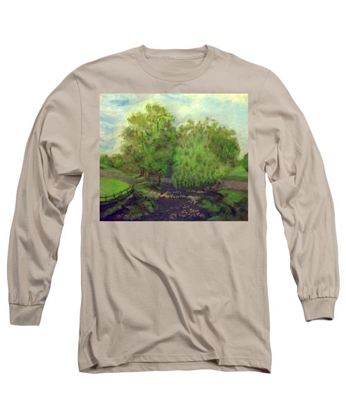 Landscape With Trees Long Sleeve T-Shirt