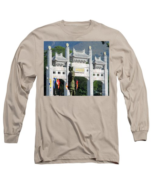 Long Sleeve T-Shirt featuring the photograph Lantau Island 51 by Randall Weidner