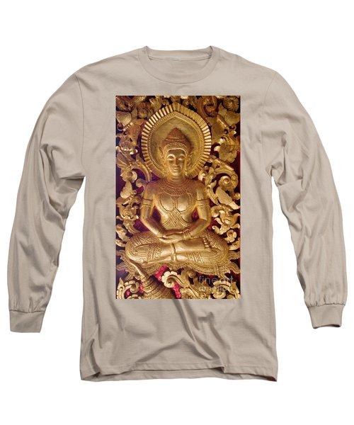 Long Sleeve T-Shirt featuring the photograph Laos_d264 by Craig Lovell