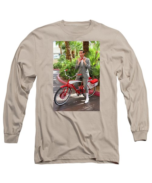 Las Vegas Pee Wee Long Sleeve T-Shirt by Iryna Goodall