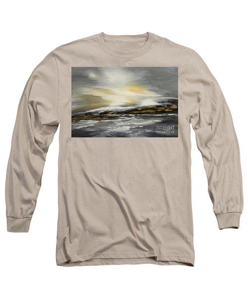 Lashed To Windward Long Sleeve T-Shirt by Tatiana Iliina