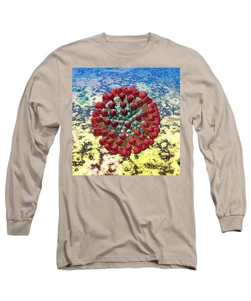 Lassa Virus Long Sleeve T-Shirt by Russell Kightley