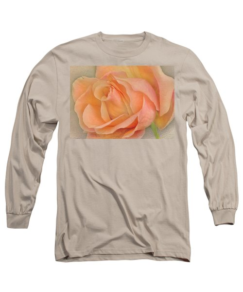 Last Autumn Rose Long Sleeve T-Shirt by Jacqi Elmslie