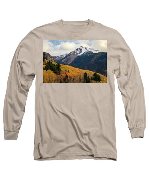 Last Light Of Autumn Long Sleeve T-Shirt by David Chandler