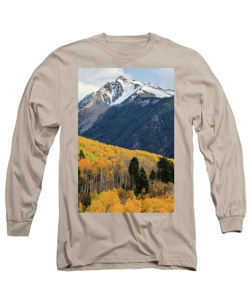 Long Sleeve T-Shirt featuring the photograph Last Light Of Autumn Vertical by David Chandler