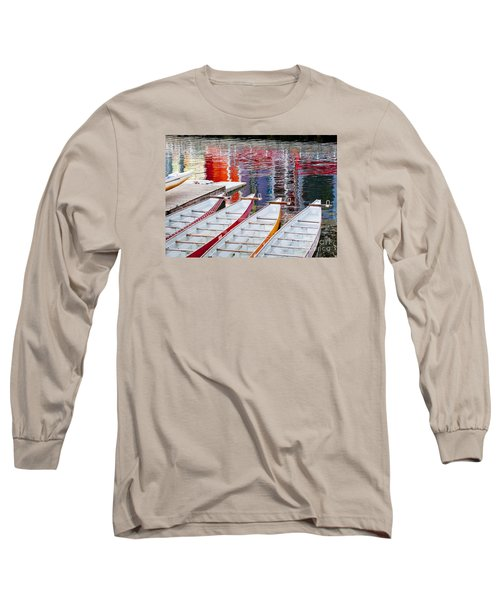 Last Of The Dragon Boats Long Sleeve T-Shirt by Chris Dutton