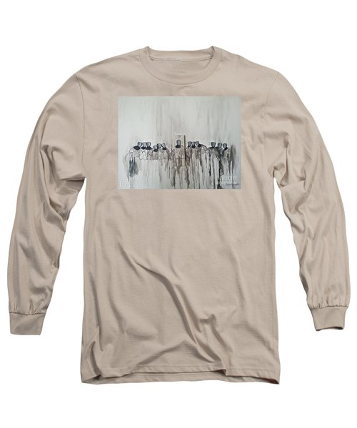 Last Supper Long Sleeve T-Shirt by Fei A
