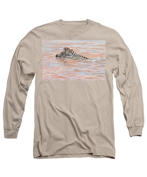 Last To Cross Long Sleeve T-Shirt