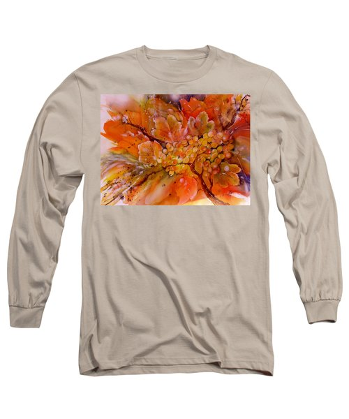 Last Warm Sunrays On The Grapes Long Sleeve T-Shirt
