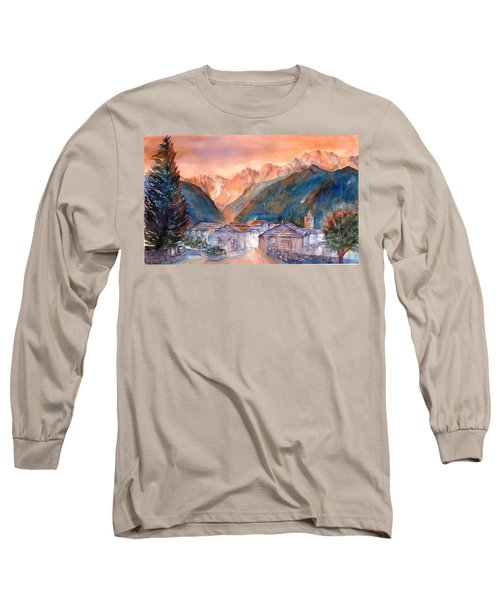 Late Fall In The Mountains No. 2 Long Sleeve T-Shirt
