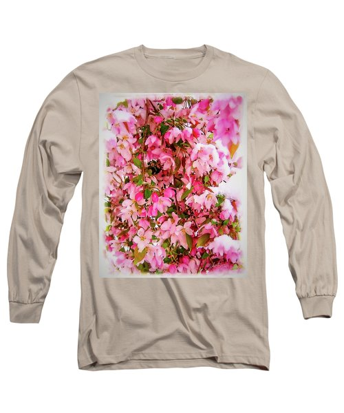 Late Snow Early Flowers Long Sleeve T-Shirt