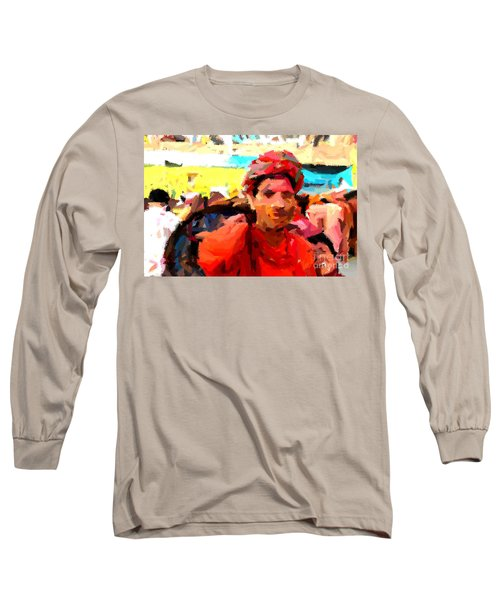 Lathmaar Holi Of Barsana-1 Long Sleeve T-Shirt