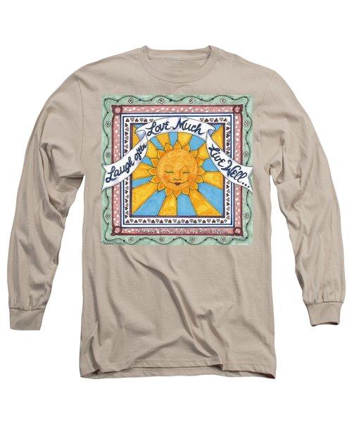 Laugh Love Live Long Sleeve T-Shirt