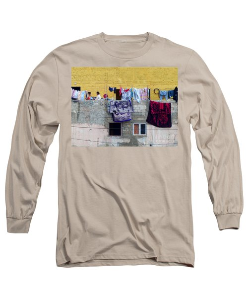 Laundry In Guanajuato Long Sleeve T-Shirt