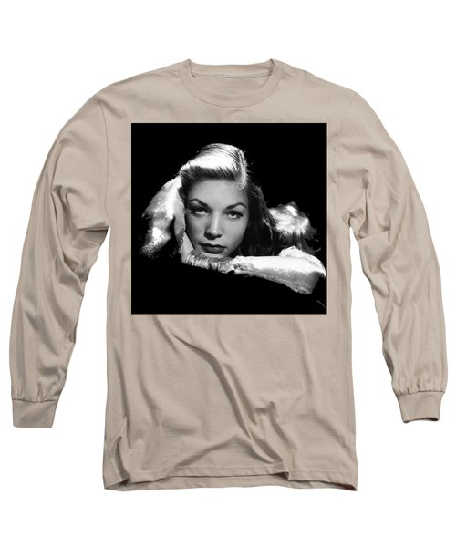 Lauren Bacall Publicity Photo Circa 1945-2015 Long Sleeve T-Shirt
