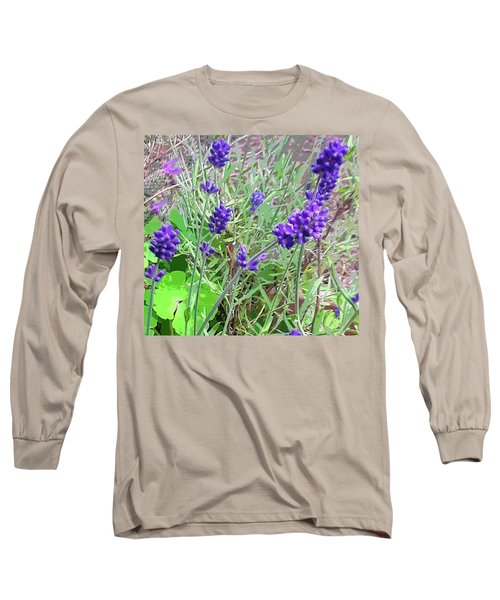 Lavande Long Sleeve T-Shirt