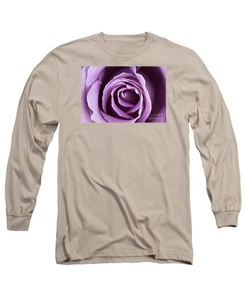 Lavender Rose Long Sleeve T-Shirt