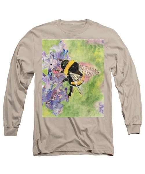 Lavender Visitor Long Sleeve T-Shirt