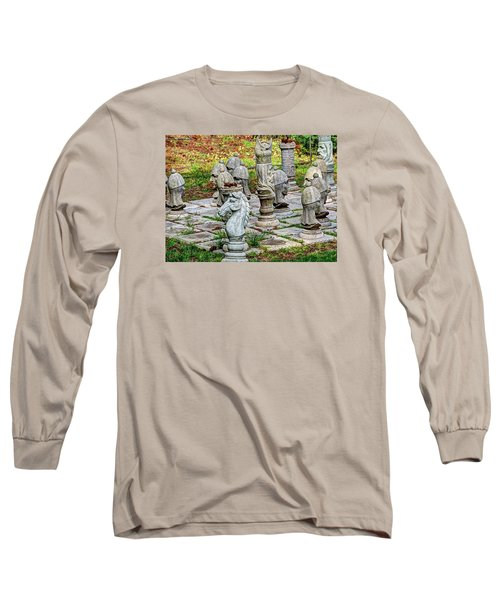 Lawn Chess Long Sleeve T-Shirt