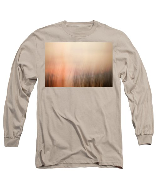 Long Sleeve T-Shirt featuring the photograph Laying Low At Sunrise by Marilyn Hunt