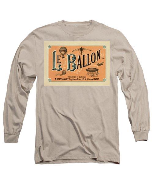 Le Balloon Long Sleeve T-Shirt