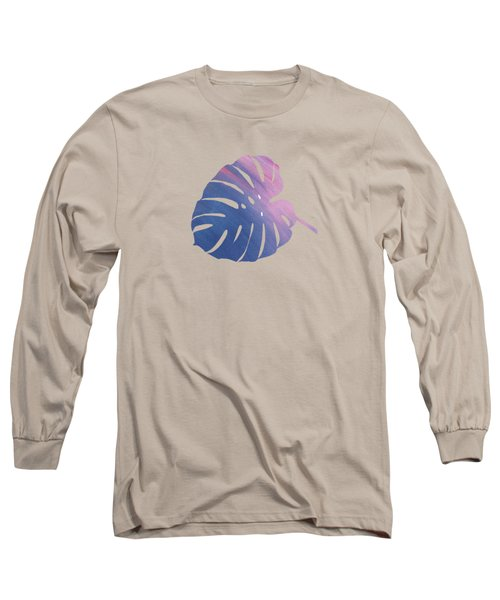 Leaf Abstract 1 Long Sleeve T-Shirt by Art Spectrum