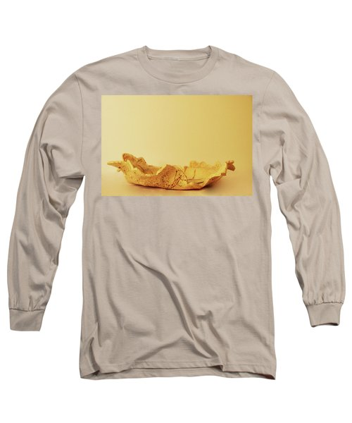 Long Sleeve T-Shirt featuring the photograph Leaf Plate2 by Itzhak Richter