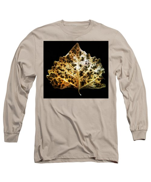 Leaf With Green Spots Long Sleeve T-Shirt