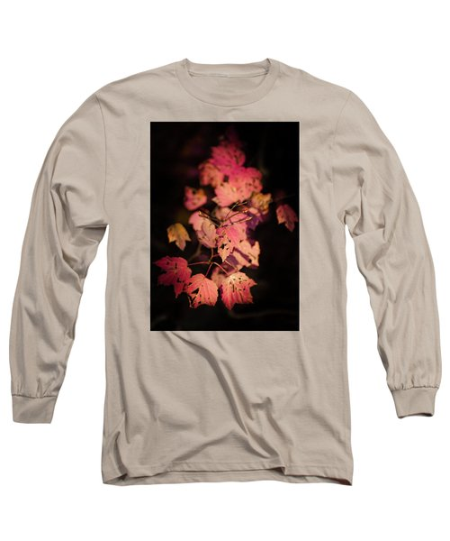 Long Sleeve T-Shirt featuring the photograph Leaves Of Surrender by Karen Wiles
