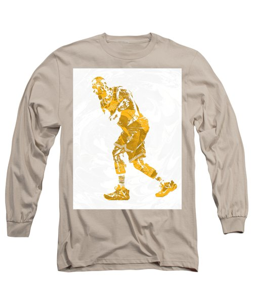 Lebron James Cleveland Cavaliers Pixel Art 13 Long Sleeve T-Shirt