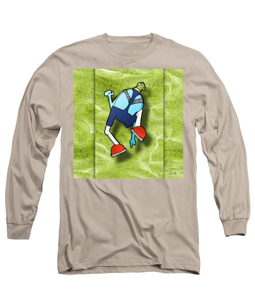 Lederhosen Long Sleeve T-Shirt by Uncle J's Monsters