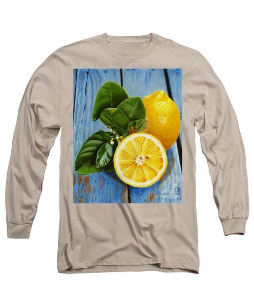 Lemon Fresh Long Sleeve T-Shirt