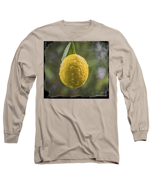 Long Sleeve T-Shirt featuring the photograph Lemon Fresh by Mitch Shindelbower