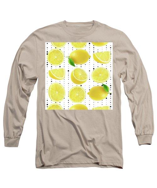 Lemon  Long Sleeve T-Shirt by Mark Ashkenazi