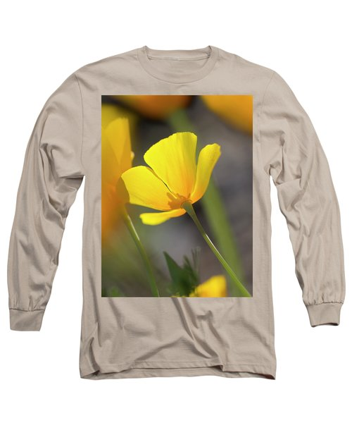 Lemon Yellow Long Sleeve T-Shirt