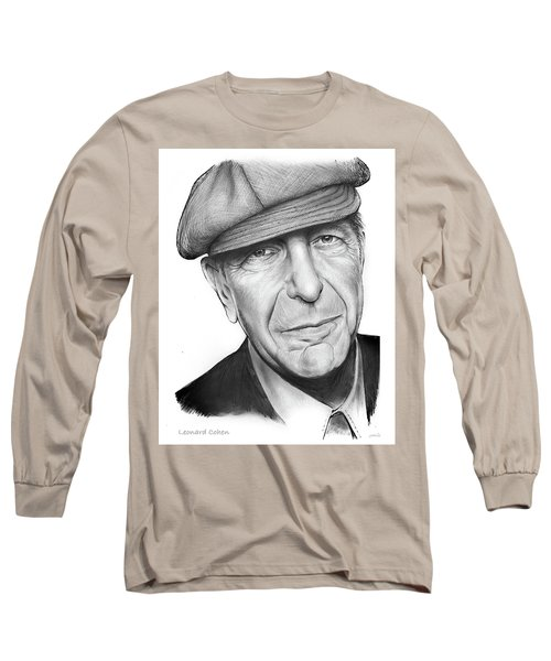 Leonard Cohen Long Sleeve T-Shirt