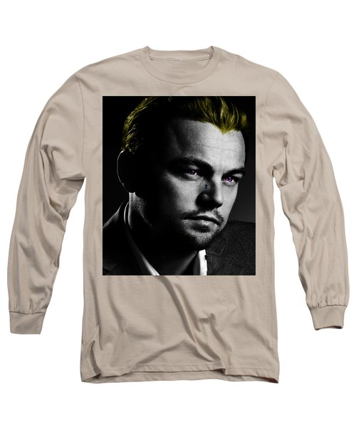 Leonardo Di Caprio Long Sleeve T-Shirt