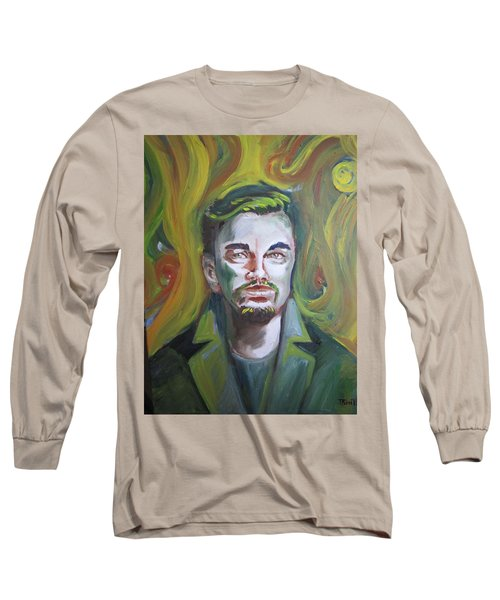 Leonardo Di Caprio Long Sleeve T-Shirt