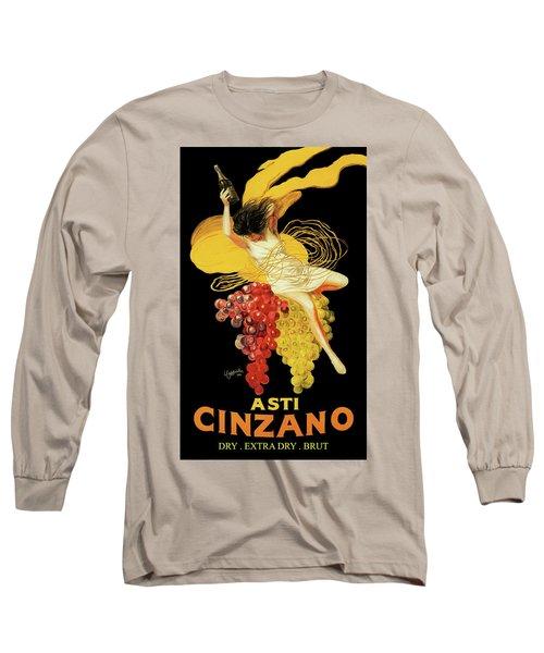 Leonetto Cappiello - Asti Cinzano Long Sleeve T-Shirt
