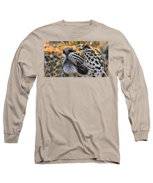 Leopard Aloft Long Sleeve T-Shirt