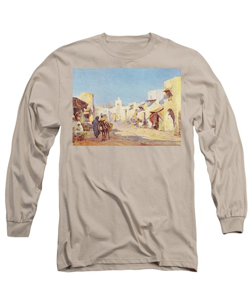 Long Sleeve T-Shirt featuring the photograph Leopold Carl Muller 1887 by Munir Alawi