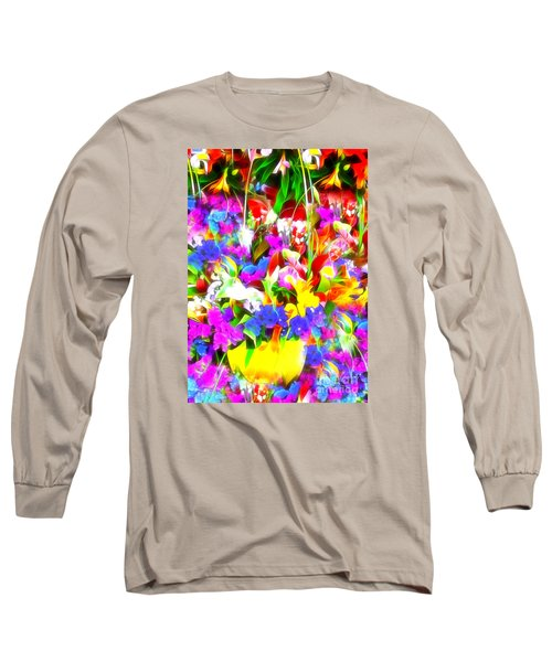 Long Sleeve T-Shirt featuring the photograph Les Jolies Fleurs by Jack Torcello