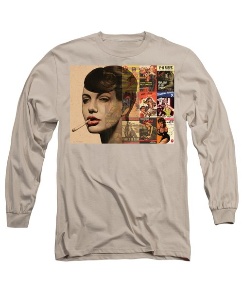 Les Pulps Francaises Long Sleeve T-Shirt by Udo Linke